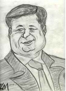 A Well Fed Prime Minister, Stephen J. Harper