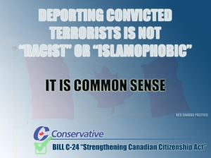 Deporting Convicted Terrorists is not racist or